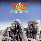 lp: aerosmith: rock in a hard place