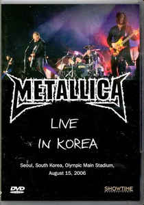 METALLICA: Live in korea