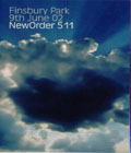 New Order: 511 Finsbury Park 9th June 02