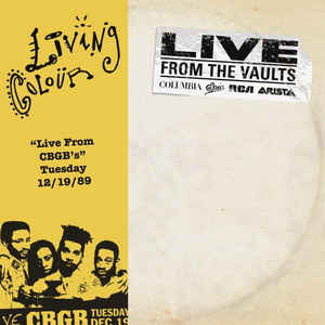 "Living Colour: ""Live From CGGB's"" Tuesday 12/19/89"