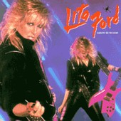 lp: Lita Ford: Dancin On The Edge