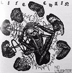 Life Chain:No Laughter (blå vinyl)