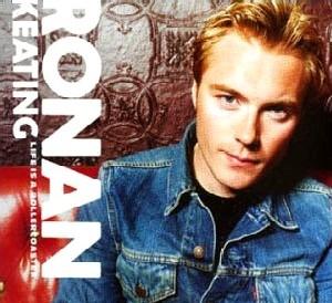 cd-singel: Ronan Keating: Life Is A Rollercoaster