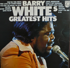 Barry White:barry white's greatest hits